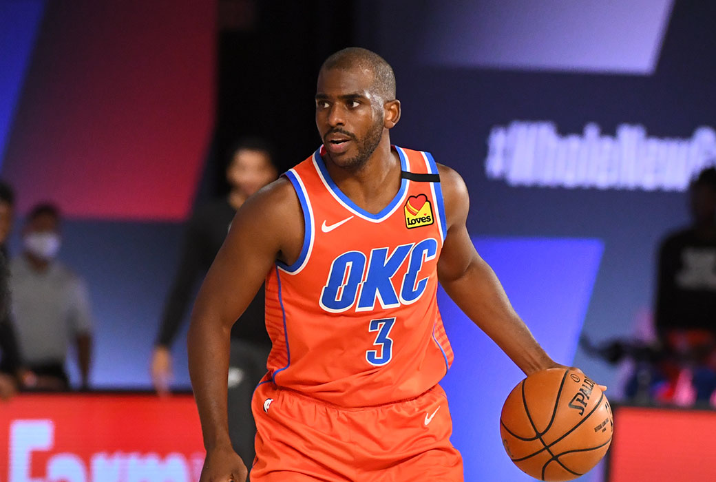 Phoenix Suns finalizing deal to acquire Chris Paul from Oklahoma City Thunder