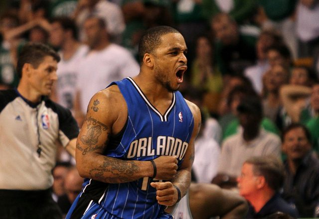 Jameer Nelson of the Orlando Magic