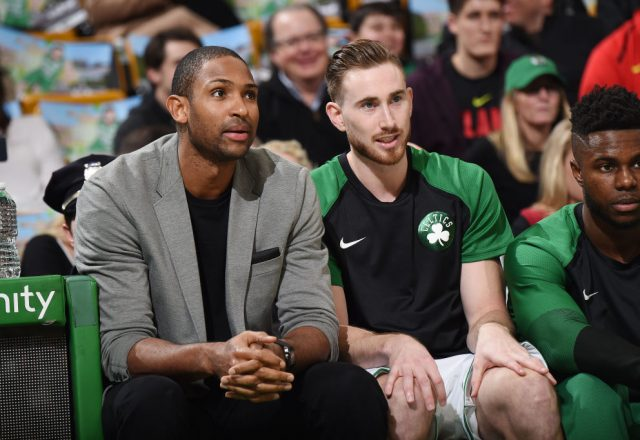Al Horford and Gordon Hayward