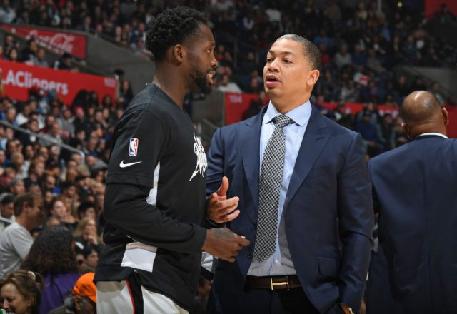 Ty Lue of the LA Clippers