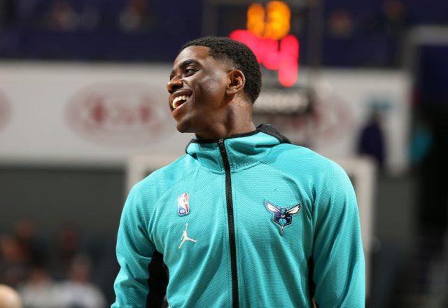 Dwayne Bacon of the Charlotte Hornets