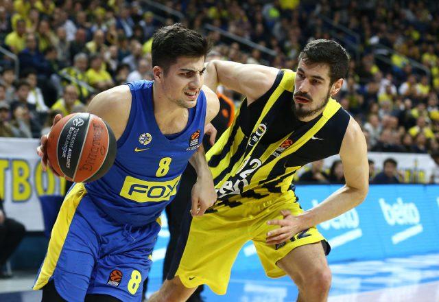 Deni Avdija of Maccabi Tel Aviv