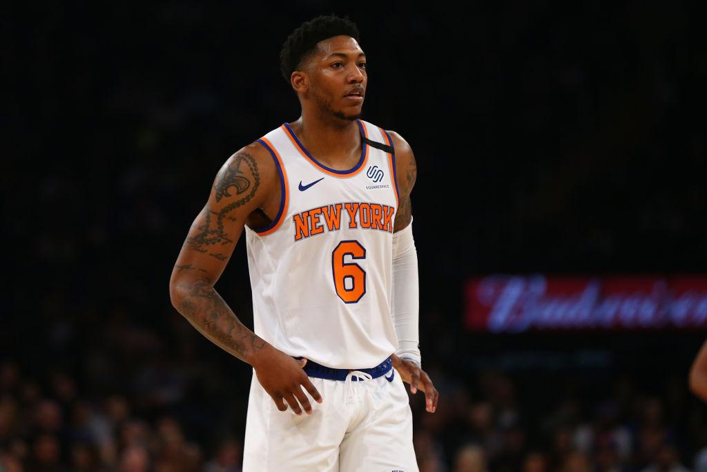 Elfrid Payton of the New York Knicks