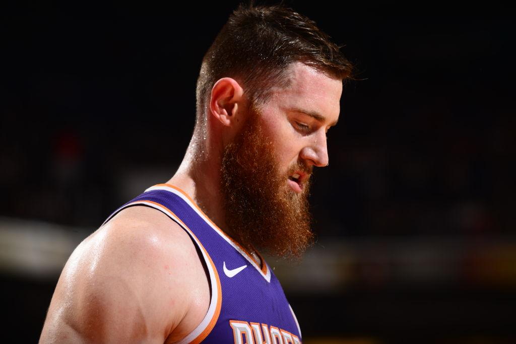 Aron Baynes of the Phoenix Suns