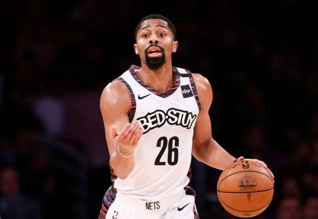 Spencer Dinwiddie of the Brooklyn Nets
