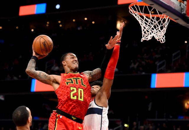 John Collins of the Atlanta Hawks
