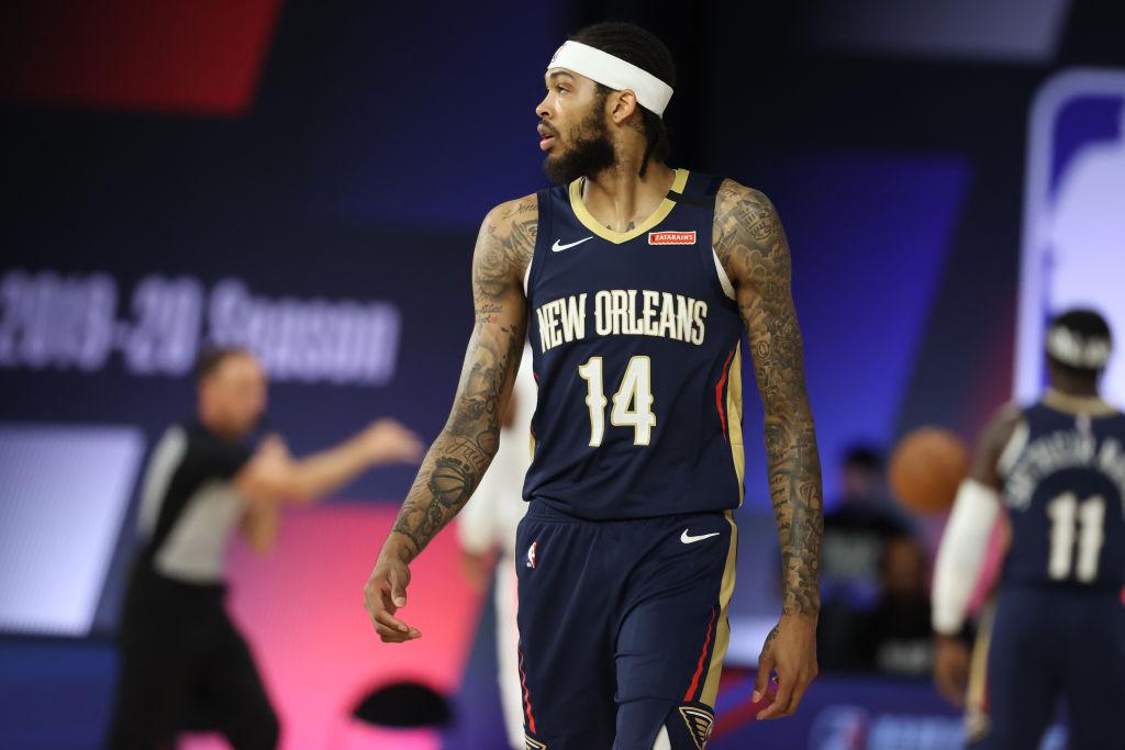 Brandon Ingram of the New Orleans Pelicans