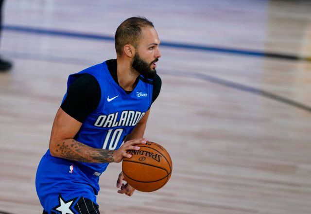 Evan Fournier of the Orlando Magic