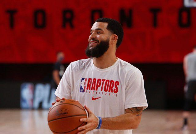 Fred VanVleet of the Toronto Raptors