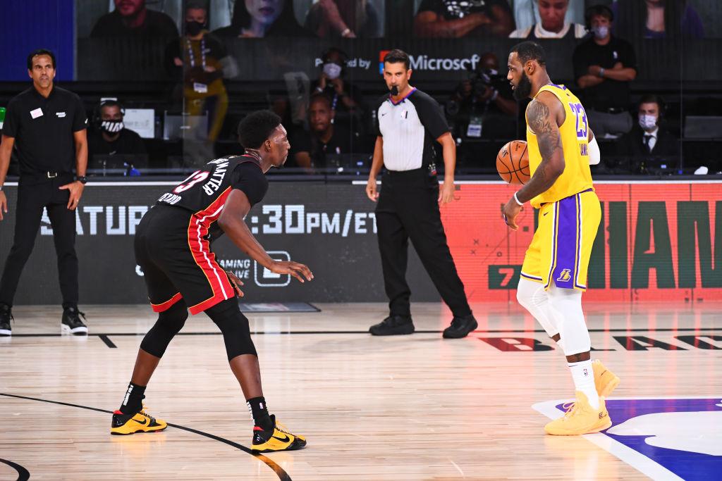 Bam Adebayo of the Miami Heat