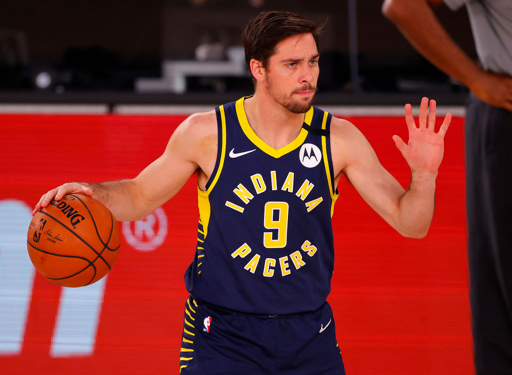T.J. McConnell of the Indiana Pacers