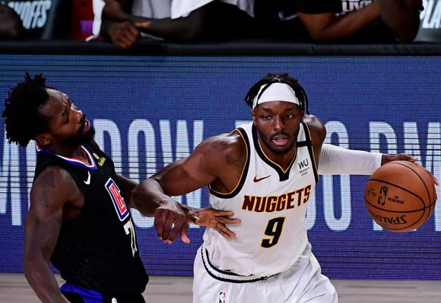 Jerami Grant of the Denver Nuggets