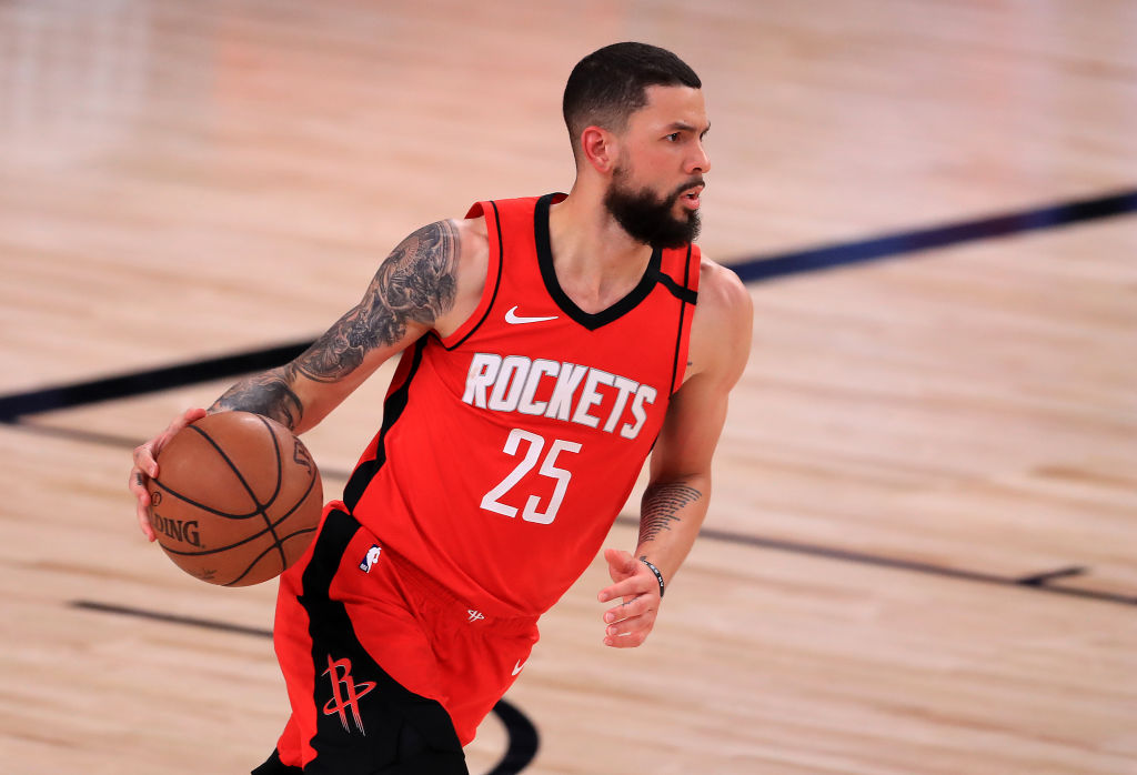 Austin Rivers of the Houston Rockets