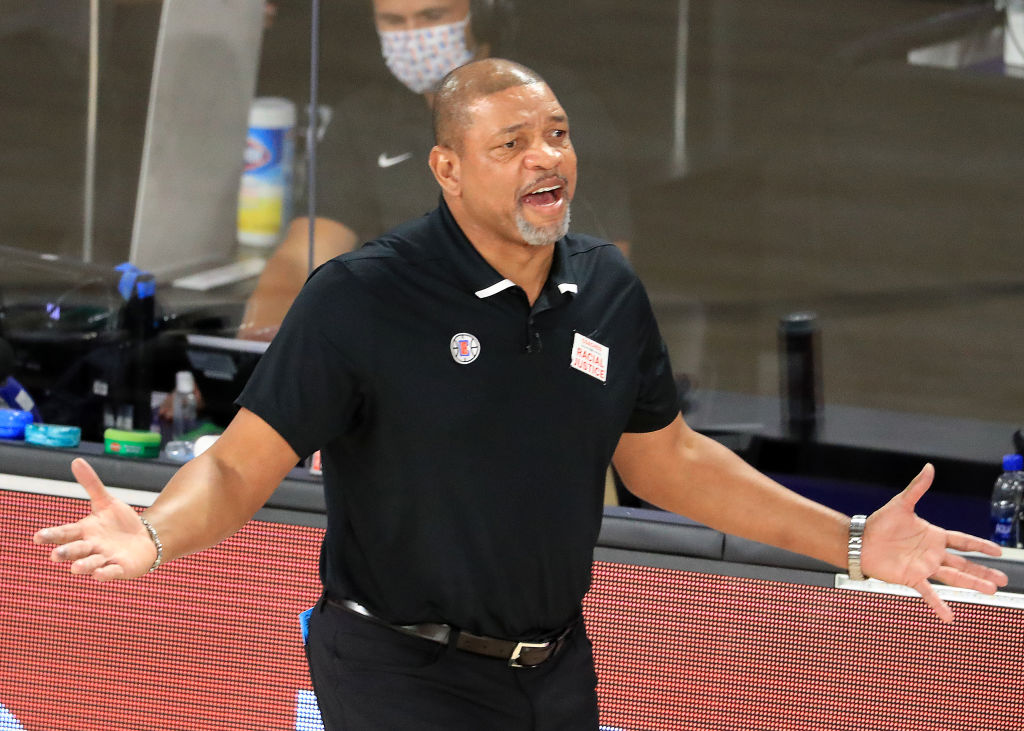 Doc Rivers of the Los Angeles Clippers