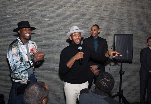 Dwyane Wade, Chris Paul, Carmelo Anthony