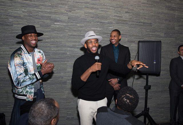 Dwyane Wade, Chris Paul, Carmelo Anthony