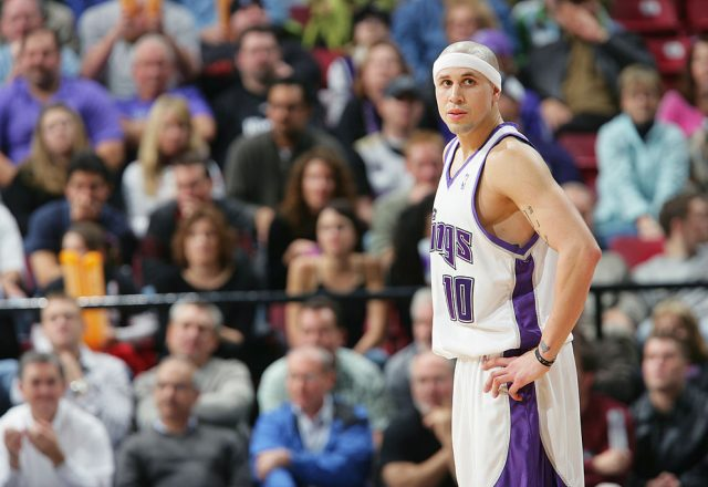 Mike Bibby of the Sacramento Kings