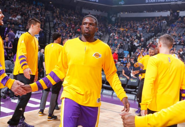 Luol Deng of the Los Angeles Lakers