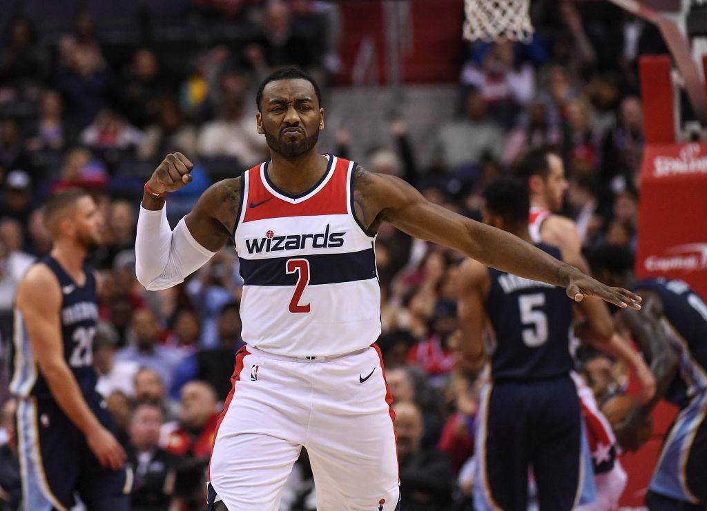 John Wall of the Washington Wizards