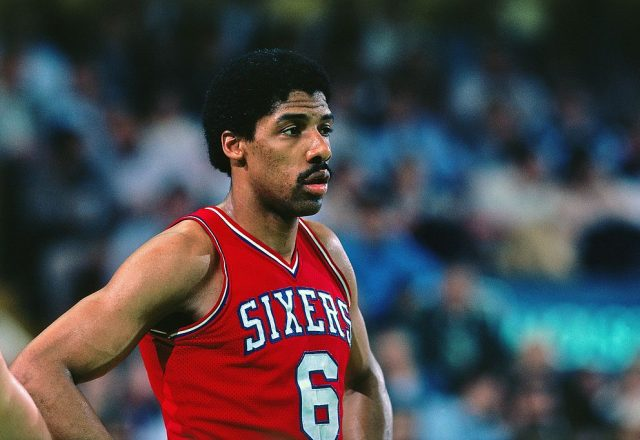 Julius Ervin of the Philadelphia 76ers