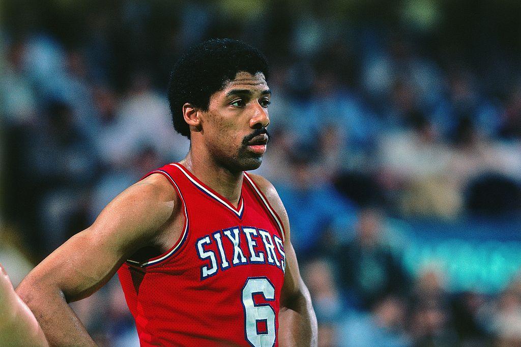 Julius Ervin of the Philadelphia 76ers
