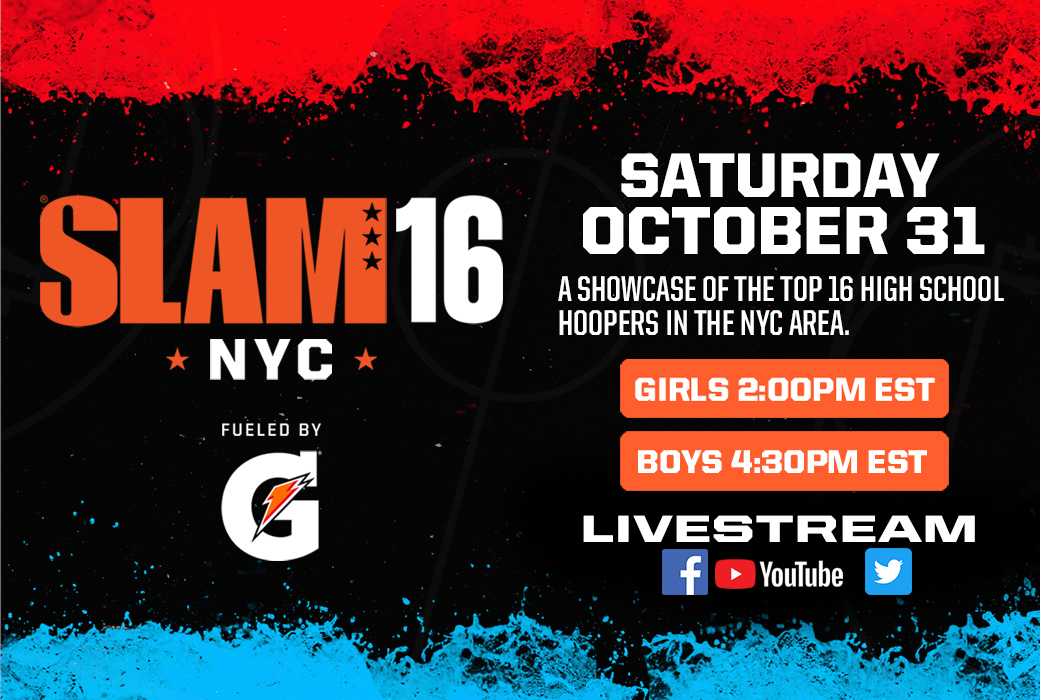 SLAM16 SHOWCASE WILL FEATURE THE TOP 16 HOOPERS IN NYC! thumbnail
