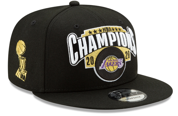 Lakers NBA Champions Hat