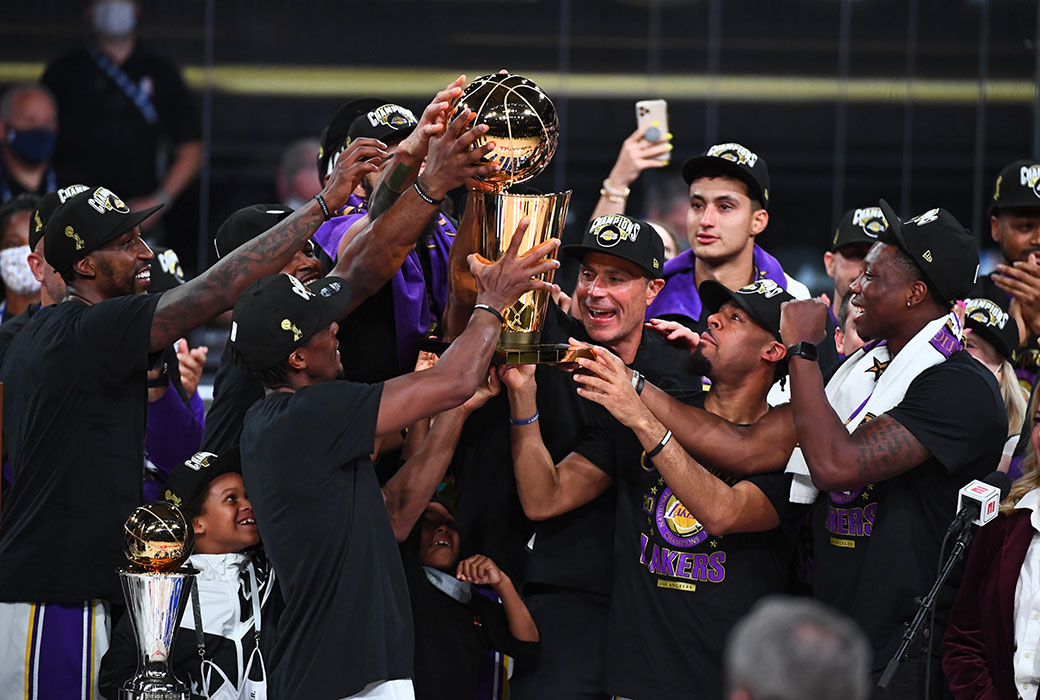 Rob Pelinka: Lakers' Title Deserve 'Gold Star' Rather Than An Asterisk | SLAM