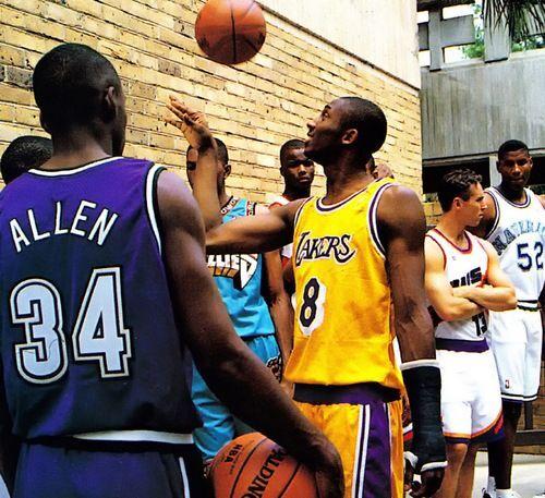 Ray Allen, Kobe Bryant