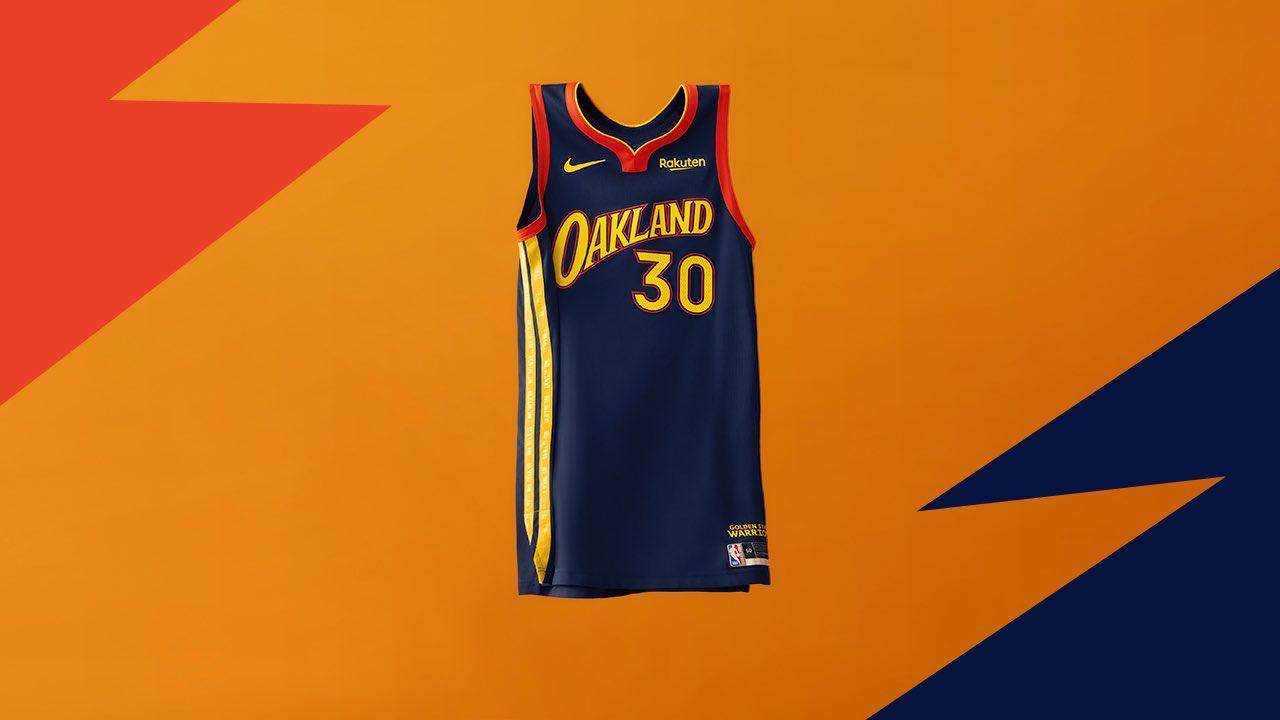 Golden State Warriors City Jerseys