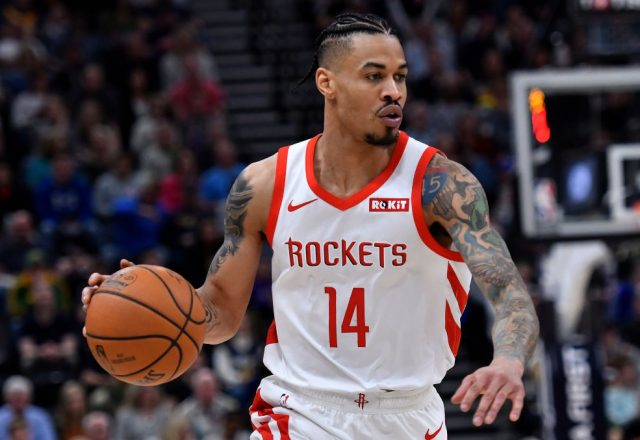 Gerald Green of the Houston Rockets
