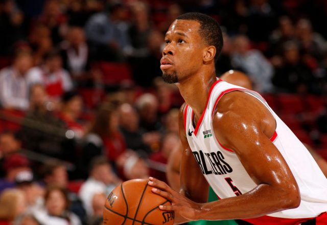Rodney Hood of the Portland Trail Blazers