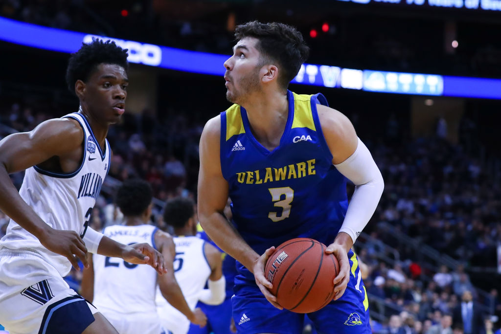 Nate Darling of the Delaware Fightin Blue Hens
