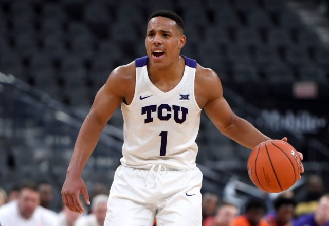 Desmond Bane of the TCU Horned Frogs