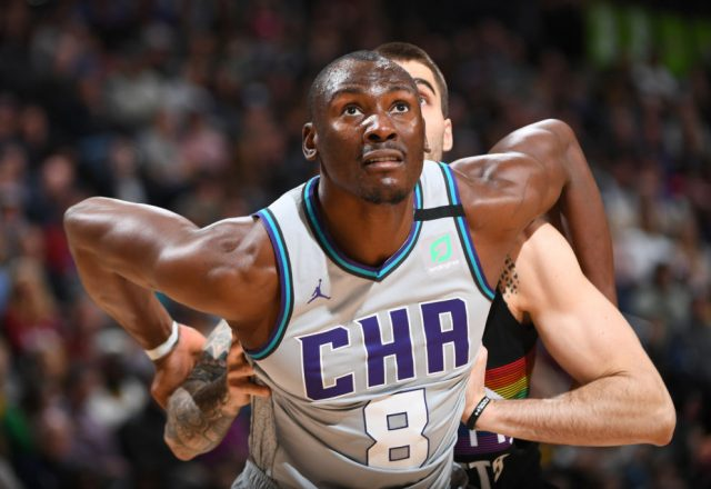 Bismack Biyombo of the Charlotte Hornets