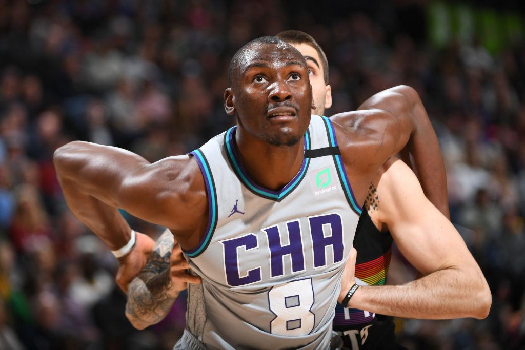 Bismack Biyombo of the Charlotte Hornets