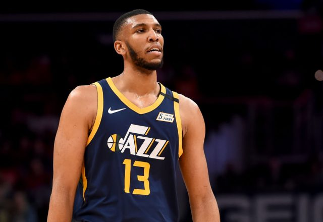 Tony Bradley of the Utah Jazz