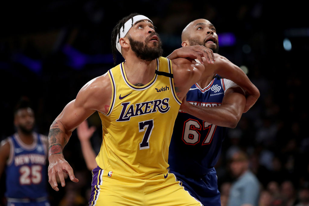 JaVale McGee of the Los Angeles Lakers