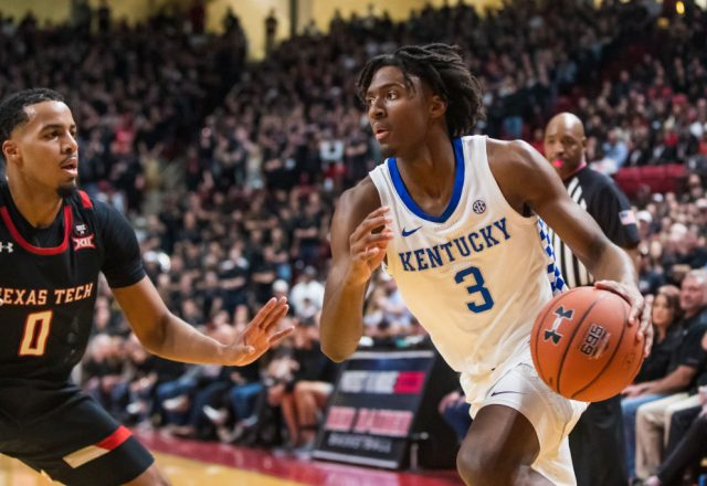 Tyrese Maxey of the Kentucky Wildcats
