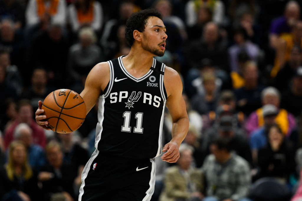 Bryn Forbes of the San Antonio Spurs