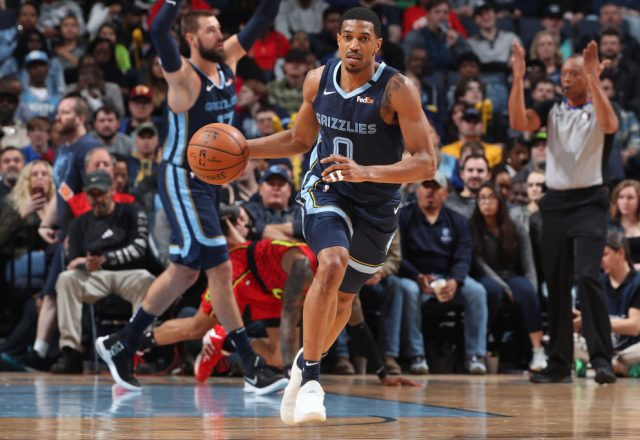 De'Anthony Melton of the Memphis Grizzlies