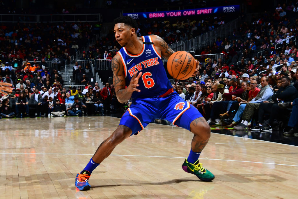 Elfrid Payton of the New York Knicks