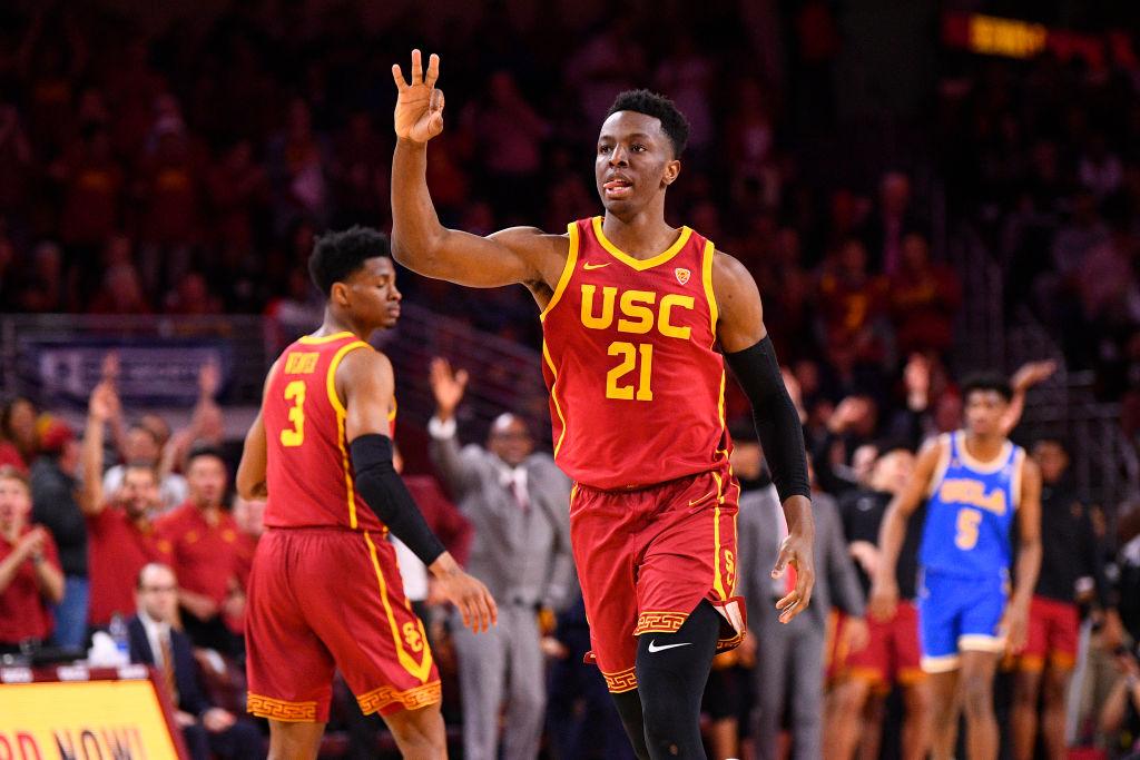 Onyeka Okongwu of the USC Trojans