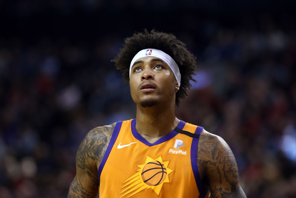 Kelly Oubre Jr of the Phoenix Suns