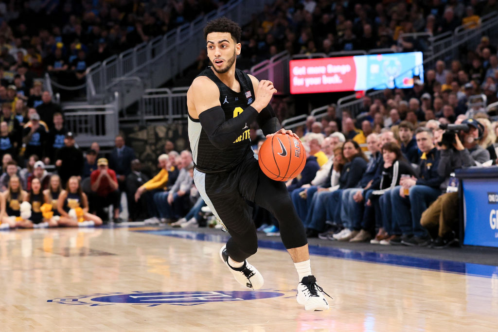 Markus Howard of the Marquette Golden Eagles