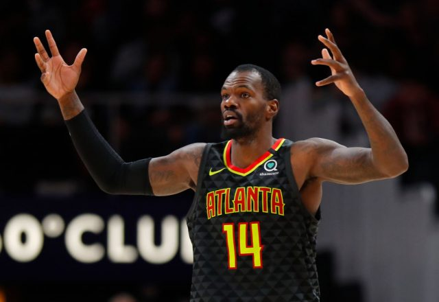 Dewayne Dedmon of the Atlanta Hawks