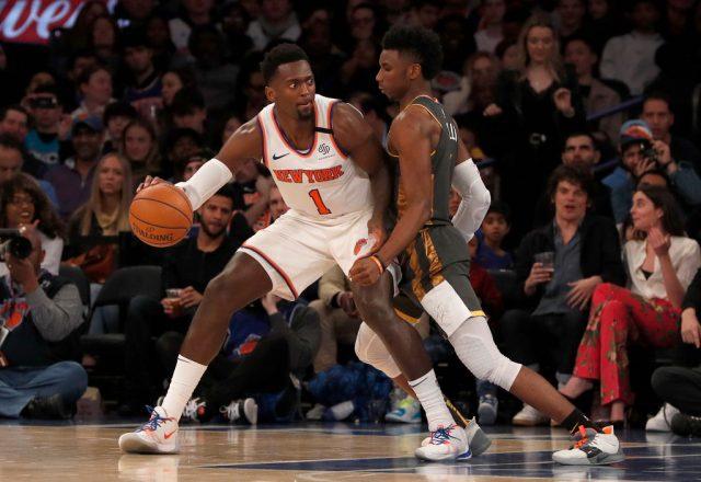 Bobby Portis of the New York Knicks