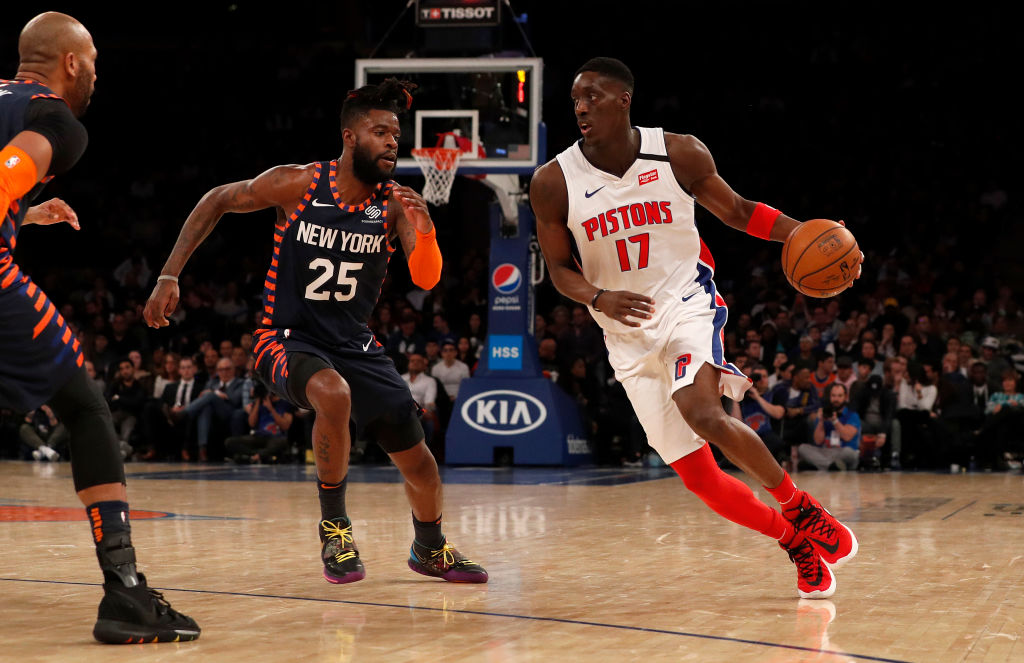 Pistons acquire center Dewayne Dedmon, continue roster purge