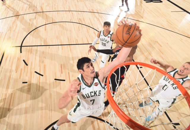 Ersan Ilyasova of the Milwaukee Bucks