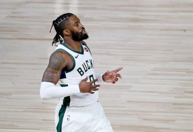 Wesley Matthews of the Milwaukee Bucks